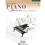Piano Adventures Accelerated Lesson Book 1