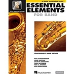 Essential Elements 2000 Tenor Sax Book 1 w/CD-ROM