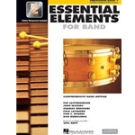 Essential Elements 2000 Percussion Book 1 w/CD-ROM