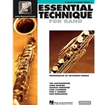 Essential Technique 2000 Bass Clarinet Book 3 w/CD
