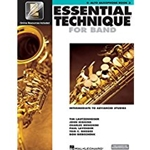 Essential Technique 2000 Alto Sax Book 3 w/CD