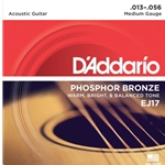 D'Addario Phosphor Bronze Acoustic Guitar Strings Light