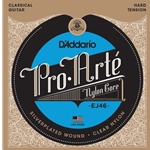 D'Addario Pro-Arté Nylon Classical Guitar Strings Hard Tension