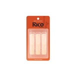 Rico #3 Bass Clarinet Reeds, 3 Pack