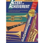 Accent on Achievement Book 1 E-flat Alto Saxophone