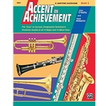 Accent on Achievement Book 3 E-flat Baritone Saxophone