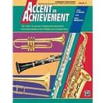 Accent on Achievement Book 3 Combined Percussion S.D., B.D., Access., Timp. & Mallet Percussion