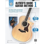 Alfred's Basic Guitar Method 1 with CD & DVD