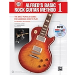 Alfred's Basic Rock Guitar Method 1 with DVD