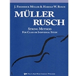 Muller-Rusch String Method Book 4 String Bass MULLER-RUS