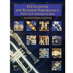 Foundations For Superior Performance Alto Clarinet PROGRAM-TE