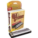 Hohner Old Standby Diatonic Harmonica Key of D