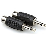 "Hosa Adaptor RCA Female to 1/8"" Male"