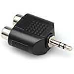 Hosa Stereo Adaptor 2 RCA to 3.5MM