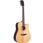 Teton  STS160ZICENT Ziricote Acoustic Electric Guitar