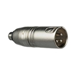 Hosa Adaptor XLR3 Male To RCA Female