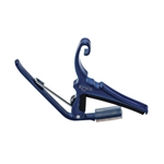 Kyser Quick Change Acoustic Guitar Capo Blue