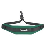 NeoTech Soft Sax Strap Forest Green