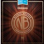 D'Addario Nickel Bronze Acoustic Guitar Strings Light
