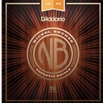 D'Addario Nickel Bronze Acoustic Guitar Strings Light Top/Medium Bottom