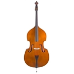Scherl & Roth SB900 Silver Series Double Bass Outfit, 3/4 Used W/ - French Style Bow