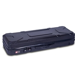 Crossrock 4/4 Violin Black Hard Case