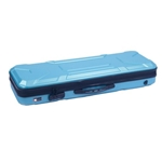 Crossrock 4/4 Violin Turquoise Hard Case