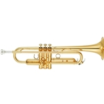 Yamaha YTR-8310ZII Bobby Shew Custom Series Bb Trumpet - Gold Lacquer