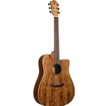 Teton STS000SMGCE Spalted Maple Veneer Acoustic Electric Guitar