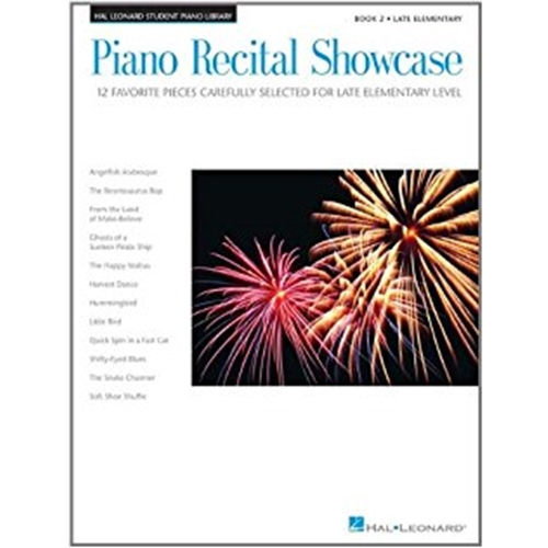 Piano Recital Showcase - Festival Favorites, Book 2 [NFMC]