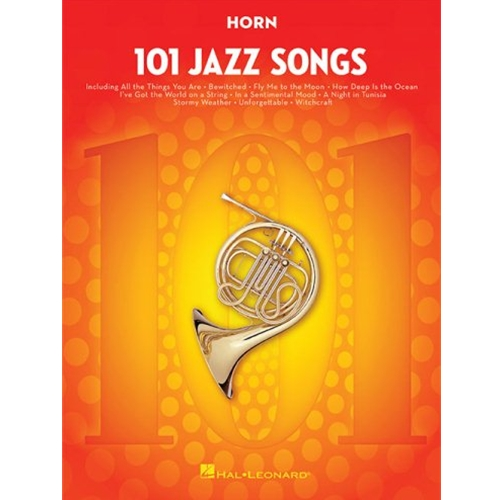 101 Jazz Songs for Horn Horn
