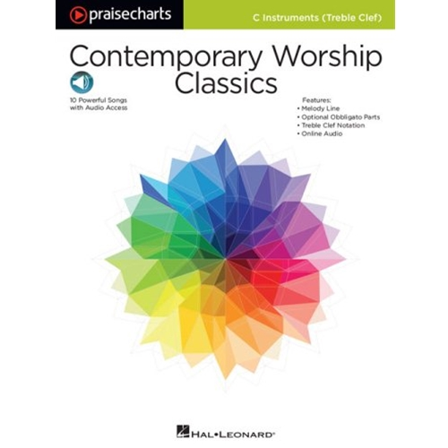 Contemporary Worship Classics C Instruments Treble