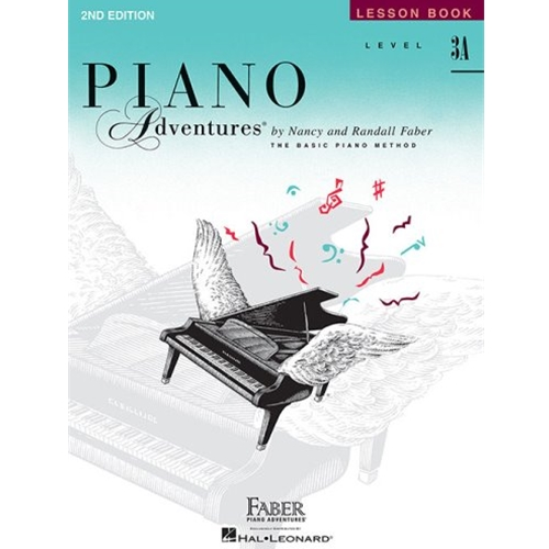 Piano Adventure Lesson Book 3A