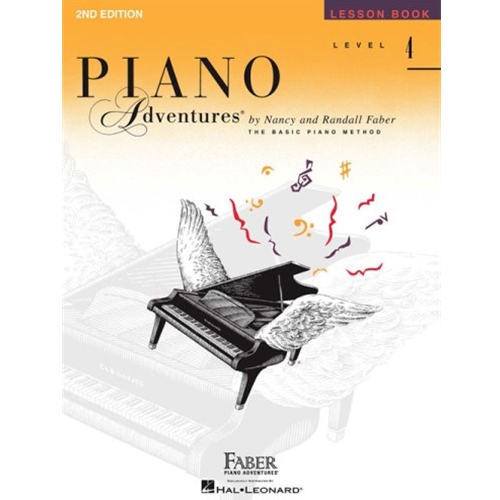 Piano Adventures Lesson Book 4