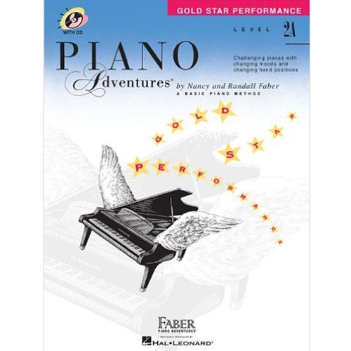 Piano Adven Gold Star Perf.  w/CD 2A