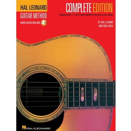 Hal Leonard Guitar Method, Second Edition - Complete Edition with Online Audio