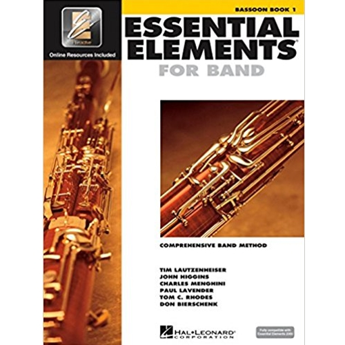 Essential Elements 2000 Bassoon Book 1 w/CD-ROM
