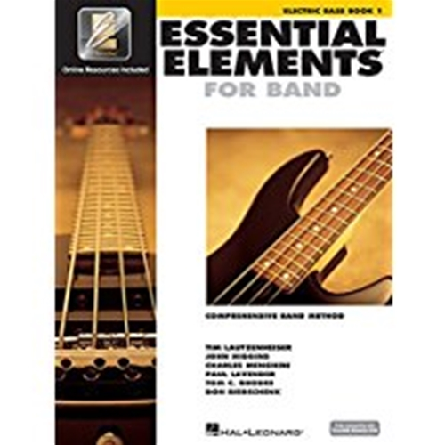 Essential Elements 2000 Electric Bass Book 1 w/CD-ROM
