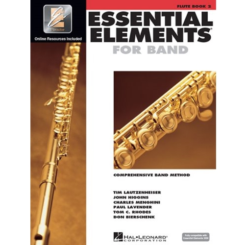 Essential Elements 2000 Flute Book 2 w/CD