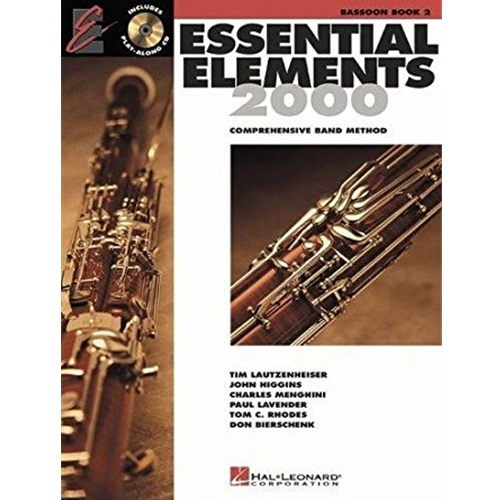 Essential Elements 2000 Bassoon Book 2 w/CD