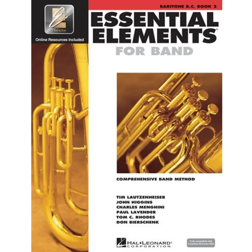 Essential Elements 2000 Baritone B.C Book 2 w/CD