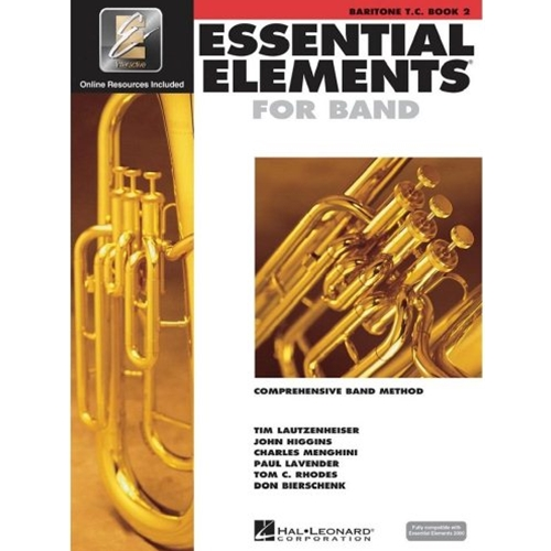 Essential Elements 2000 Baritone T.C. Book 2 w/CD