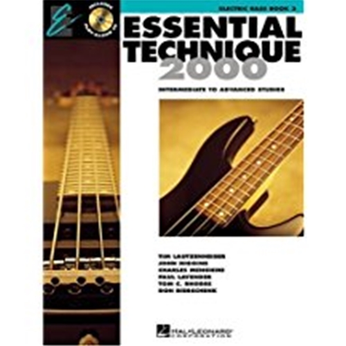 Essential Technique 2000 Electric Bass Book 3 w/CD