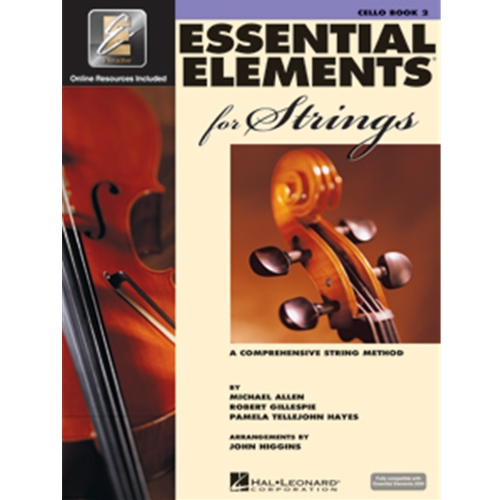 Essential Elements 2000 for Strings Book 2 Cello