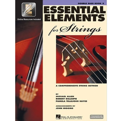 Essential Elements 2000 for Strings Book 2 Double Bass