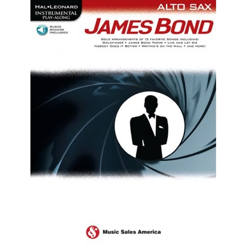 James Bond Alto Sax