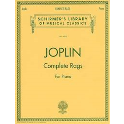 Joplin - Complete Rags for Piano [NFMC]
