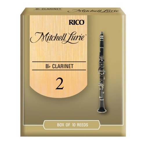 Mitchell Lurie #2 Clarinet Reeds, 10 Pack
