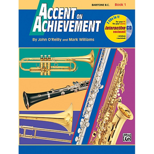 Accent on Achievement Book 1 Baritone B.C.