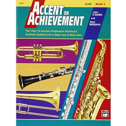 Accent on Achievement Book 3 Flute